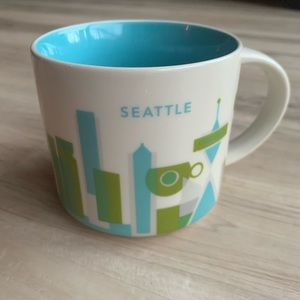 Starbucks You're Here Mug Seattle Blue/Green